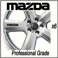 MAZDA CAR WHEEL DECALS